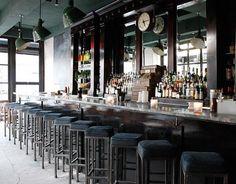 Restaurant Visit: White Slab Palace In New York. Liquor BarRestaurant Bar  DesignCity ...