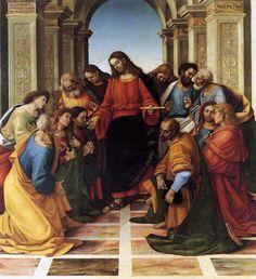 La Communion des Apôtres, Luca Signorelli Musée Diocésain, Cortona