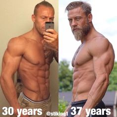 No Beard + Slim VS Beard + Bulk 🤔 difference Body Fitness, Fitness Goals, Fitness Tips, Mens Fitness, Fitness Motivation, Challenge, Ripped Body, Coaching, Motivational Pictures