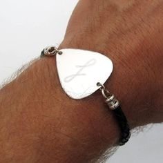 Custom Guitar Pick Bracelet, Gift for musician, Personalized Gifts for Him, Personalized Mens Bracel Surprise Gifts For Him, Diy Gifts For Him, Personalised Gifts For Him, Personalized Bracelets, Engraved Gifts, Custom Guitar Picks, Romantic Gifts For Him, Musician Gifts, Relationship Gifts