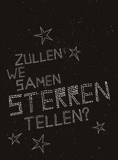 Zullen we samen sterren tellen? ❥