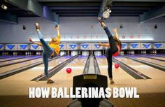 Play Bowling With a Unique Style. I should actually do this, not that I go bowling much.