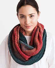 Kostenlose #Strickanleitung für einen sommerlichen #Loop / free knit pattern for light loop via lanagrossa.de