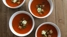 Shepherd's Tomato Soup with Rye Croutons : Recipes : do it Delicious