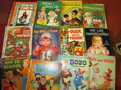 See all the photos A huge mega lot of vintage childrens Little Golden Books. Perfect grandmas house lot or for preschool homeschooling or to sit