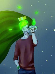 The Green King (Night Version) by shana340.deviantart.com on @DeviantArt