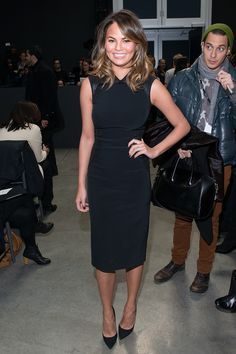 21 Ways Chrissy Teigens Style Shows Us Black Is The New Black