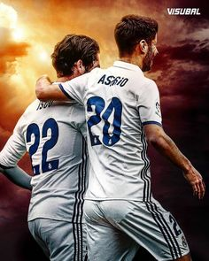 Marco Asensio Willemsen and Isco First Football, Best Football Team, Nike Football, Soccer Jerseys, Ronaldo Real Madrid, James Rodriguez, Best Hotels In Madrid, Bale Real, Isco Alarcon