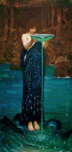 Titre de l'image : John William Waterhouse - Circe Invidiosa