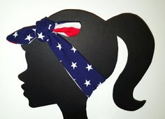 Stars and Stripes Headband Merica 4th of July American Flag Headband