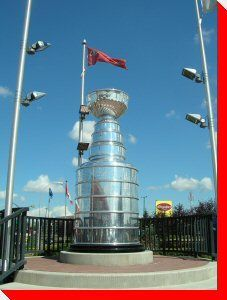 Stanley Cup - Edmonton, Alberta Just dreaming of the day when we will host this cup again. Alberta Travel, Capital Of Canada, Canadian Things, Canada Eh, Western Canada, Canadian History, Roadside Attractions, Stanley Cup, Alberta Canada