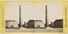 Charles Gerard | Munich (Baviere), l'Obelisque, Charles Gerard, 1860 - 1870 |