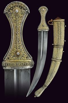 A rare and luxury Sabiki dagger                                                     category:     A Selection of Fine Arms I                    provenance:     Yemen                    dating:       late 19th Century