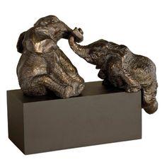 Uttermost Uttermost Playful Pachyderms Sculpture