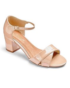 Heavenly Soles Crossover Sandals EEE Fit | Simply Be