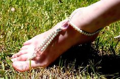 Double Stranded Butterfly Lady Instep Jewelry Anklet