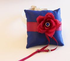 Royal Blue Raspberry Ring Pillow Ring Pillow attach by LADogStore, $72.50 #RingPillow #Wedding #Unique #Dog #Collar #LADogStore #LA #Dog #Store #RoyalBlueRaspberry #RoyalBlue #BlueRaspberry #BlueWedding #Blue #RoyalWedding #RaspberryColor #Raspberry #Amazing #Love #beautiful #Ring #Rings