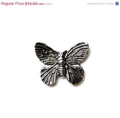 ON SALE Limited Time Only Butterfly Lapel Pin Gift by Mancornas, $12.95