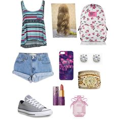 A fashion look from January 2015 featuring Billabong tops, Levi's shorts and Converse sneakers. Browse and shop related looks.
