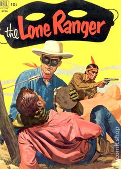 A cover gallery for the comic book Lone Ranger Western Comics, Vintage Comic Books, Vintage Comics, Zoro, Westerns, The Lone Ranger, Star Wars, Comic Book Covers, Old West