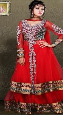 Adorable Red Lehenga Choli