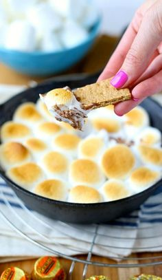 Reese's S'mores Skillet Dip? Yes, please!