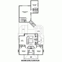Plantation Southern Level Two of Plan 47234