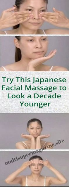 Try This Japanese Facial Massage to Look a Decade Younger – Multi Super Magazine