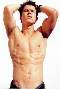 Shirtless Men - Mark Wahlberg - somethings just get better with age!