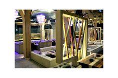 Maraboo este un spatiu sic, de o eleganta fina ce aminteste de perioada interbelica. Aici, echipa noastra a furnizat candelabre cu fibra optica si iluminat RGB, penduluri si lustre de la furnizori europeni, precum si spoturi cu led pentru iluminatul de accent. Divider, Restaurant, Led, Lighting, Room, Furniture, Home Decor, Fiber, Bedroom