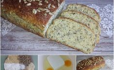 Healthy Baking, Lchf, Banana Bread, Paleo, Low Carb, Vegetarian, Yummy Food, Homemade, Desserts