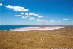 "Model of Sivash (Rotton Sea) - ""Nausicaä of the Valley of the Wind"" - sivash-salt-lagoons, Crimean Peninsula, Russia  #Ghibli #Travel"