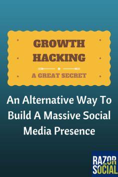 Growth Hacking: An Alternative Way To Build A Massive Social Media Presence