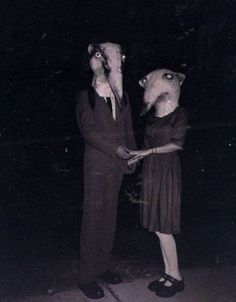 These vintage halloween costumes are far more creepy than anything today