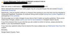 Google Reconsideration Request Guidelines & Example