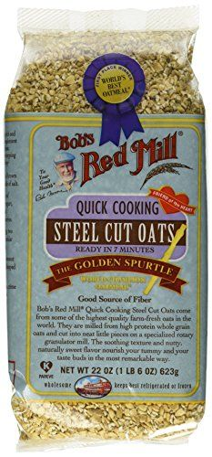 Bobs Red Mill Quick Cooking Steel Cut Oats 22 Ounce Pack of 4 -- Check this awesome product by going to the link at the image. (This is an affiliate link and I receive a commission for the sales)
