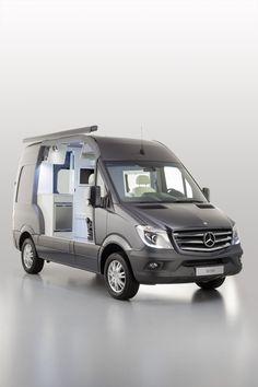 Foto 3 de 6 – Mercedes Sprinter Caravan Concept, una casa en formato furgoneta – Diariomotor