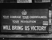 ...but no pressure. England, 1939.