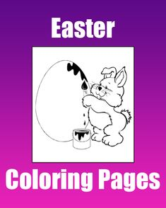 Easter Coloring Pages - Free printable Easter coloring pages for kids from PrimaryGames.
