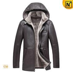 Mens Winter Sheepskin Jackets with Hood CW878207 by docool as, via Behance