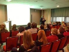 Daverend succes: de lezing van Peter Klosse voor de Academie Culinair Schrijven, zondag 12 januari.