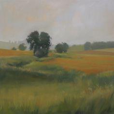 megan lightell - recent work - Home Fields, 36x36