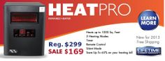 cheap infrared heaters