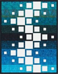 Joannes designs week52 a Pinterest challenge delivering 'Flight Quilt' a simple row quilt inspired by a quilt on pinterest.