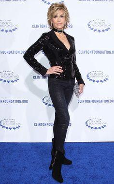 Rocker Chic from Jane Fonda's Best Looks
