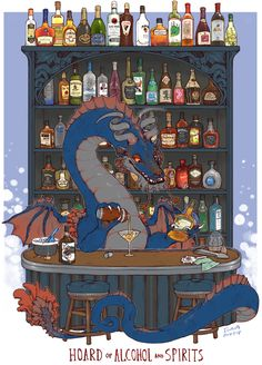 oh THIS dragon knows how to throw a party. a classy one. keep it clean. keep it real. love you size : 11 by inches - Online Store Powered by Storenvy Mythical Creatures Art, Mythological Creatures, Magical Creatures, Fantasy Creatures, Fantasy Dragon, Dragon Art, Fantasy Art, Rpg Map, Cute Dragons