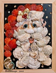 >Seashell Art Objects are Conversation Pieces | Sally Lee by the Sea