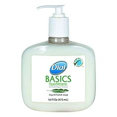 Dial Professional 06044 Basics Liquid Hand Soap, Rosemary & Mint, 16oz Pump (Case of 12) Review