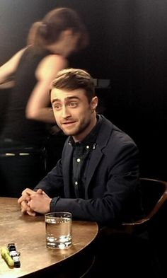 Daniel Radcliffe sits down for an interview with @Carley Rose Bishop. See him tonight on @Patti Stamp! #InishmaanBway