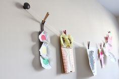 hanging kids artwork - Google Search